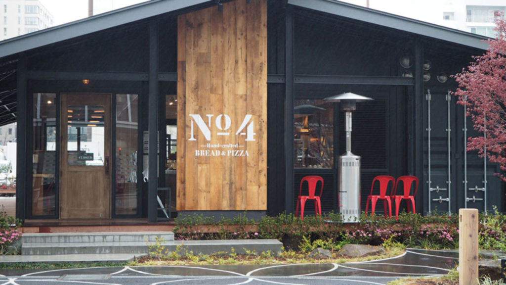 コンテナハウスを使った麹町のおしゃれなカフェ