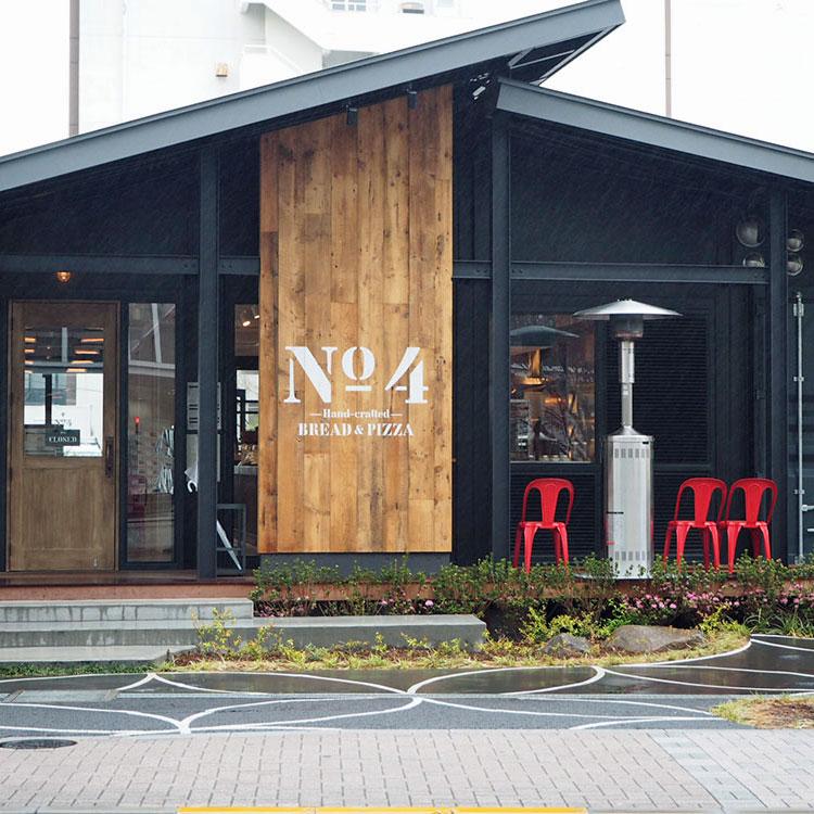 コンテナハウスのレストラン