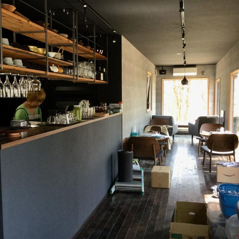 コンテナハウスのカフェ・レストラン