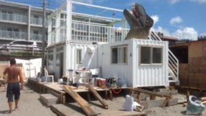 こちらは逗子海岸海の家。 その名も海雅!See Ga、シーガ