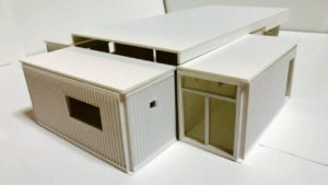 コンテナ模型作成「神田裕子」
