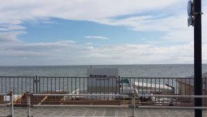 先週末の由比ヶ浜 Lenovo House Beach March'e