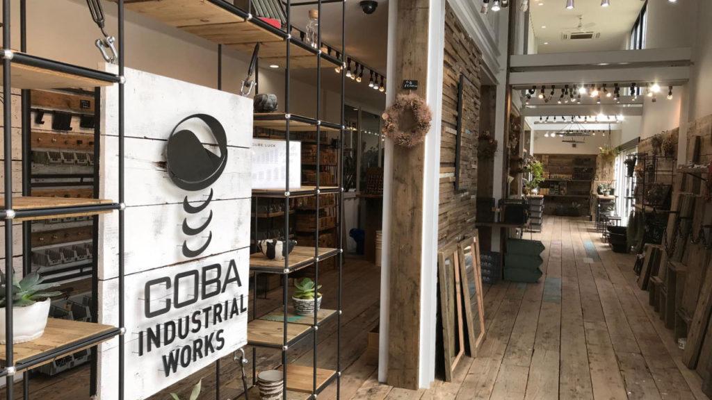 コンテナハウスの施工事例 COBA INDUSTRIAL WORKS 内装
