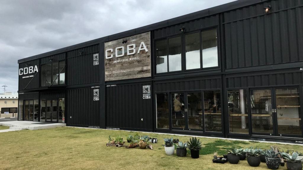 コンテナハウスの施工事例 COBA INDUSTRIAL WORKS 外観