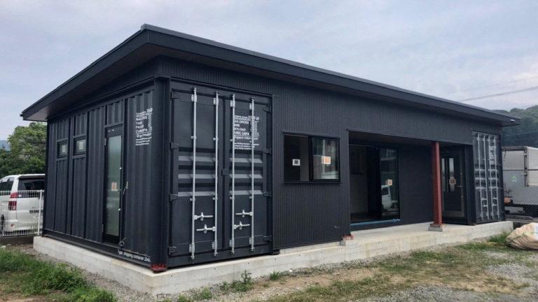 宮崎県内のコンテナハウス型オフィス