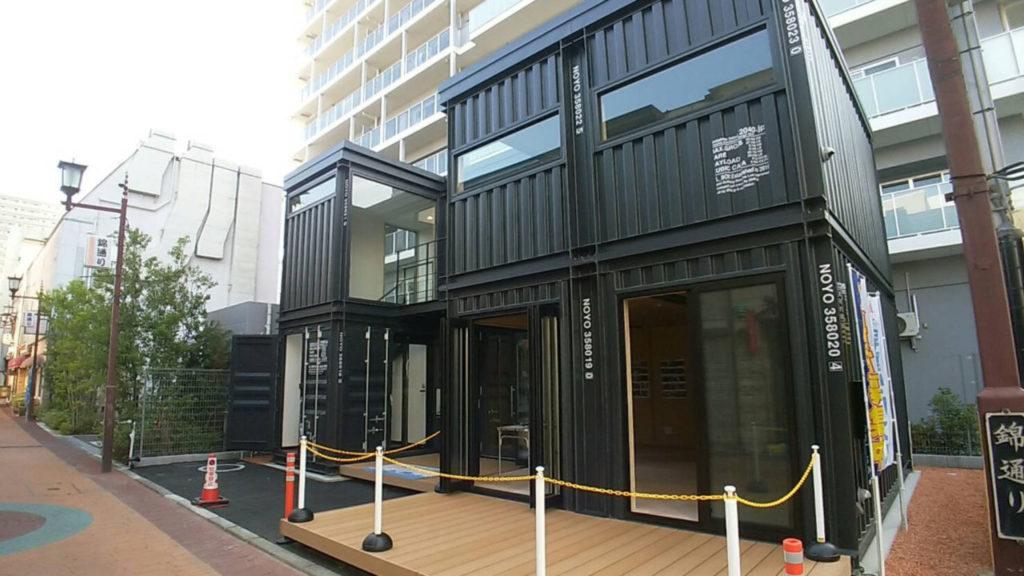 山梨県の2階建てコンテナハウス HL_BOX