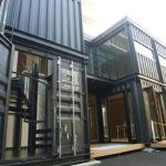 山梨県の 2 階建てコンテナハウス HL_BOX 早野組様とのコラボ作