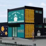 浜名湖クルージング観光「浜名湖遊覧船」の瀬戸港乗り場をコンテナハウスで建築中